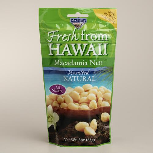 MacFarms Natural Unsalted Macadamia Nuts