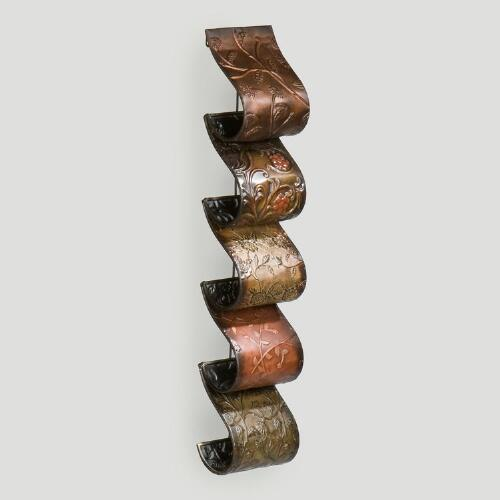 Vintage Wall Mount Wine Rack