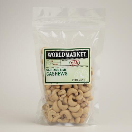 World Market® Salt & Lime Cashews