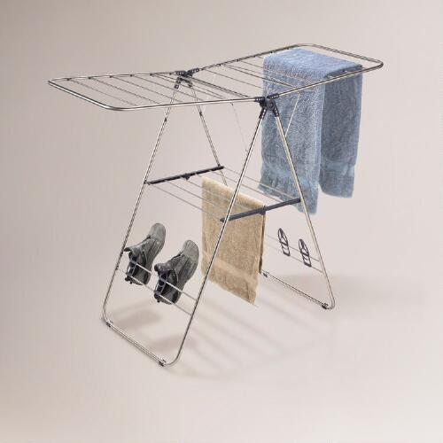 Indoor/Outdoor Stainless Steel Drying Rack