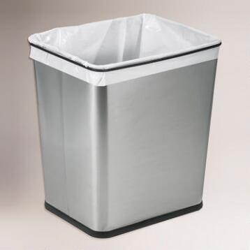 7-Gallon Stainless Steel Under the Sink Trash Can