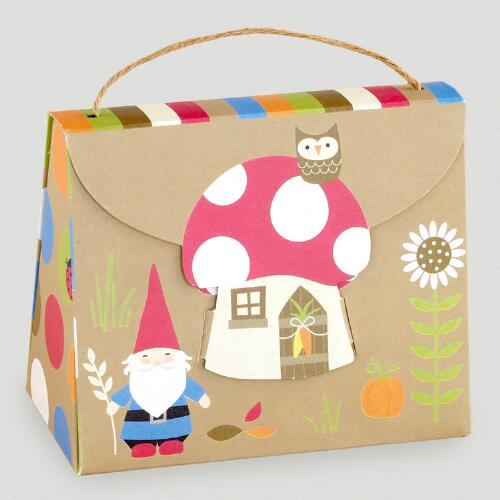 Kraft Giant Mushroom Gift Box Purse
