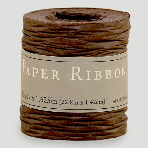 Brown Paper Ribbon