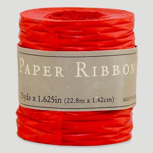Red Paper Ribbon