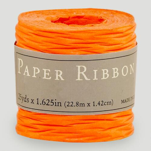 Orange Paper Ribbon