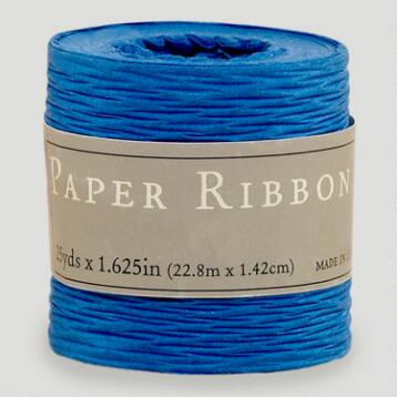 Blue Paper Ribbon