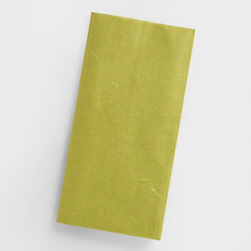 Green Mulberry Tissue, Set of 2