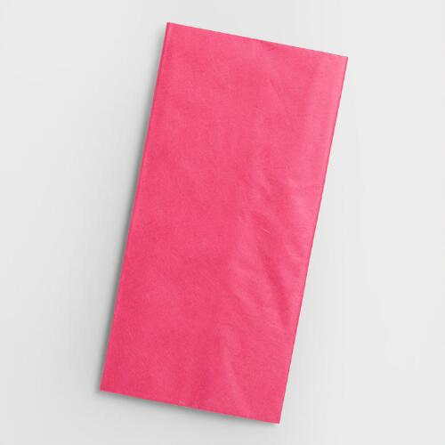 Pink Mulberry Tissue, Set of 2