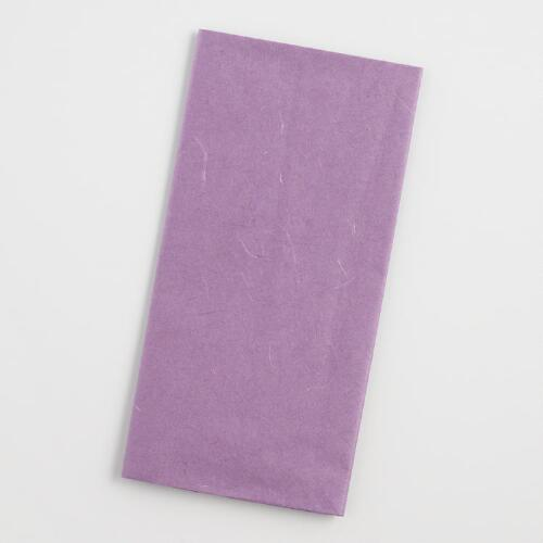 Purple Mulberry Tissue, Set of 2