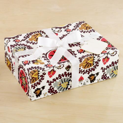 Ivory Suzani Fabric Gift Box