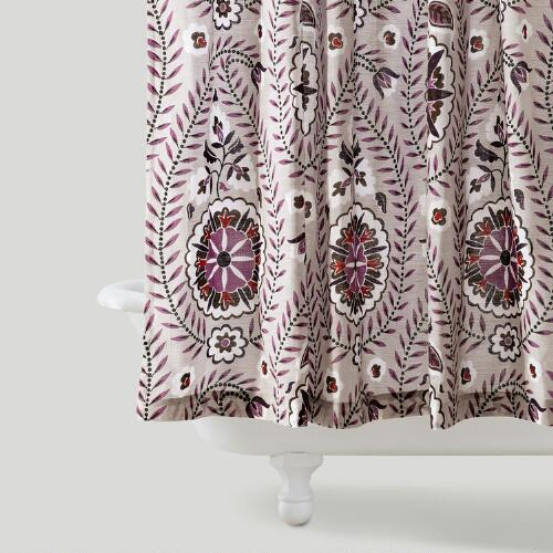 Casbah Paisley Shower Curtain