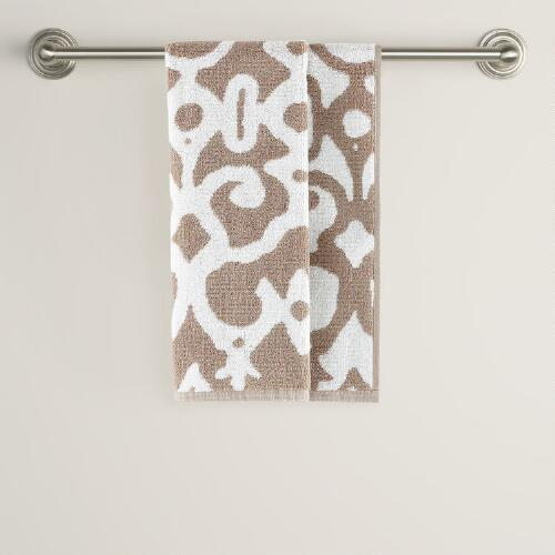 Natural/Ivory Nomad Hand Towel