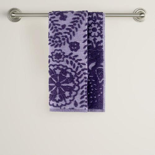 Casbah Sculpted Hand Towel
