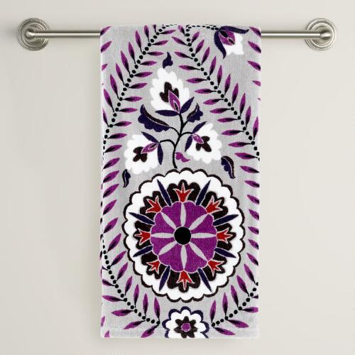 Casbah Printed Bath Towel