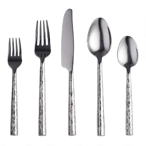Hammered Flatware