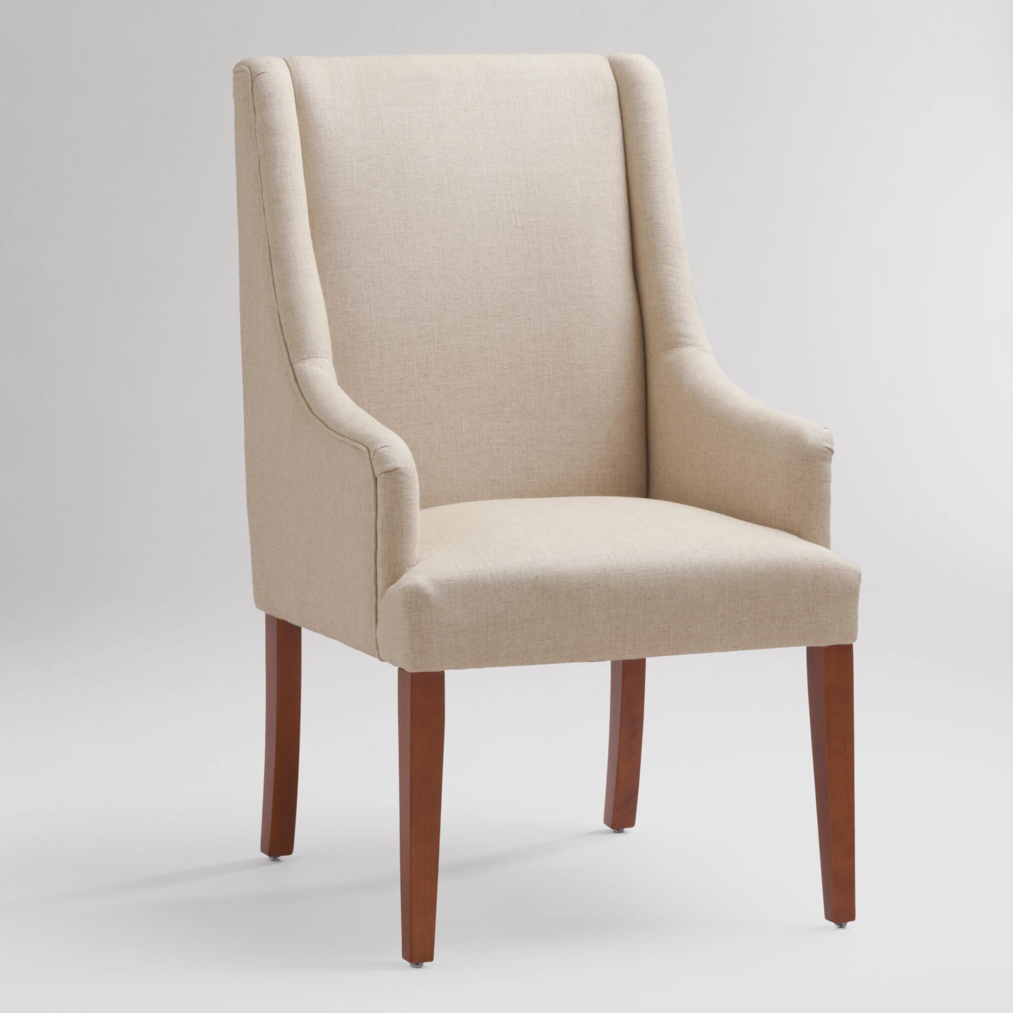 Linen Hayden Dining Chair | World Market
