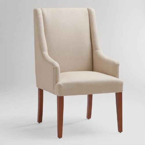 Linen Hayden Dining Chair