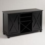 Antique Black Verona Buffet