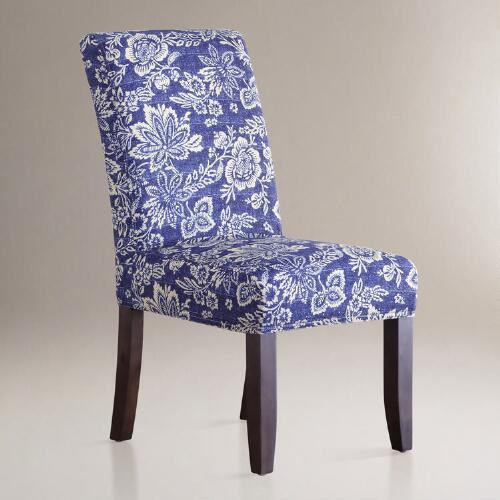 Eastern Indigo Anna Chair Slipcovers, Set of 2