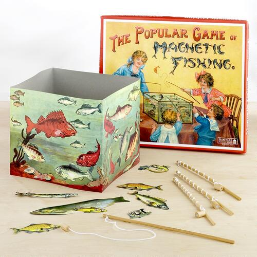 Retro Magnetic Fishing Game