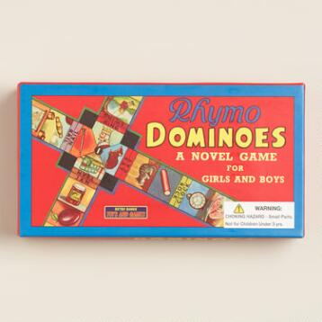 Retro Rhymo Dominoes Game