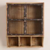 Colton Metal & Wood Wall Unit