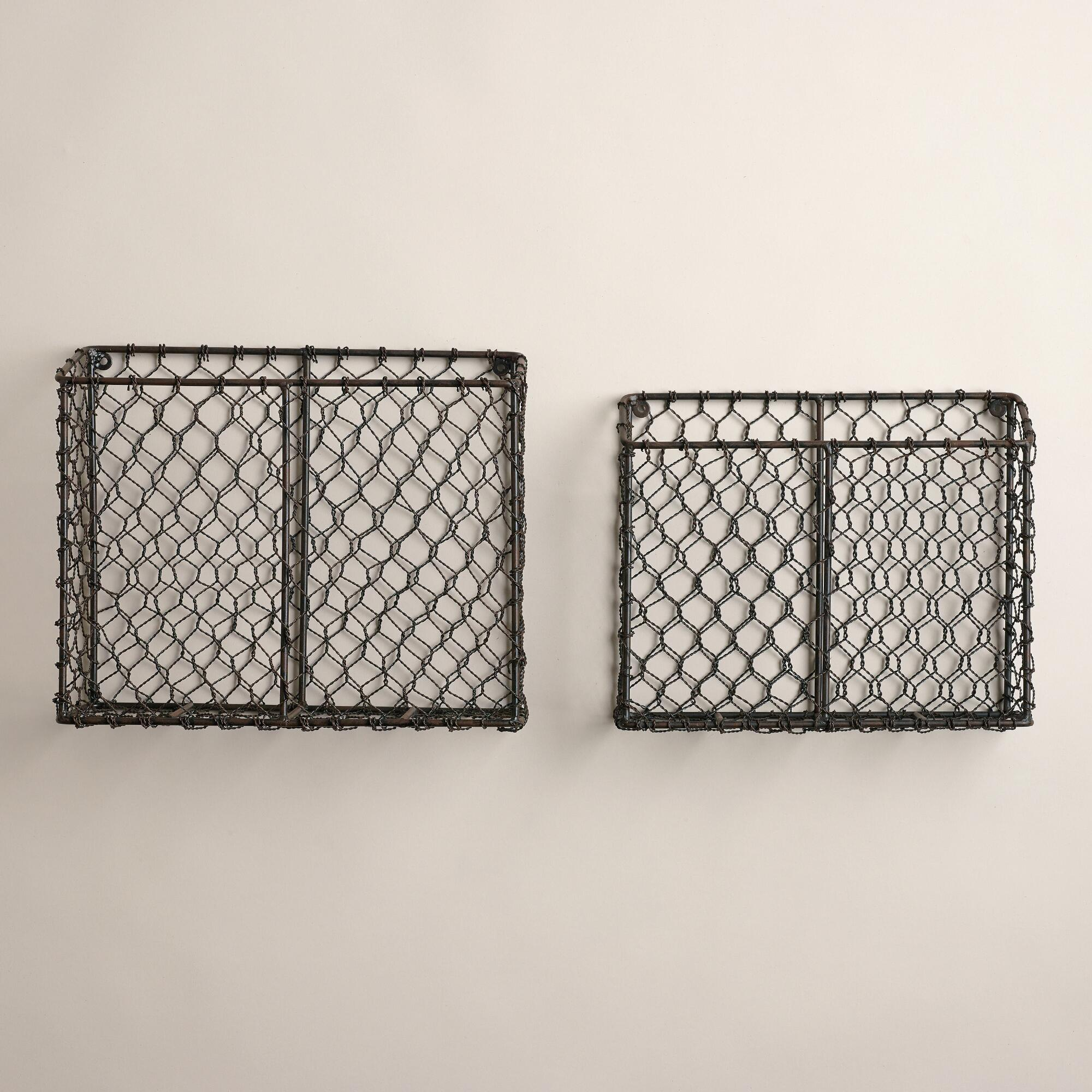 The Famous Wall-Mounted Wire Basket | Live Simply by Annie