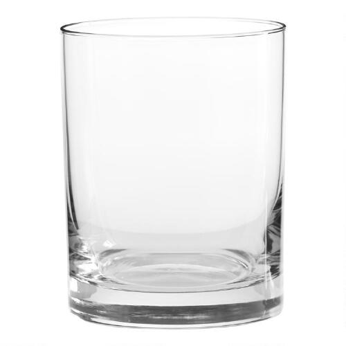 Heavy Sham Double Old Fashioned Glasses, Set of 4