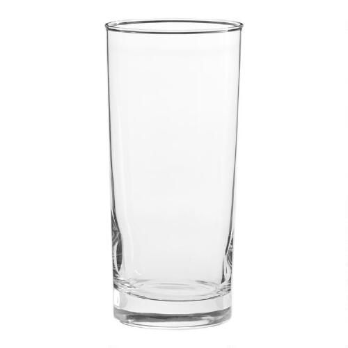 Heavy Sham Highball Glasses, Set of 4