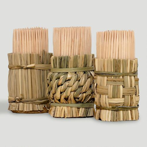 Toothpicks with Holder, Set of 3