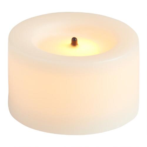 Flameless LED Tealight Candles, 4-Pack