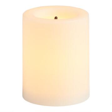 Flameless LED Votive Candles, Set of 4