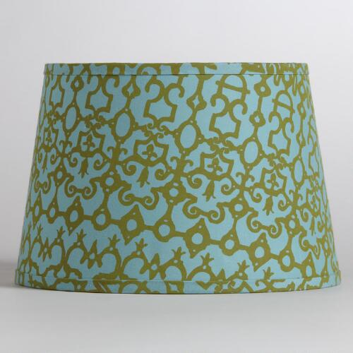 Turquoise Nomad Accent Lamp Shade