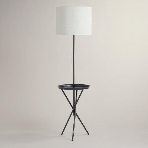 Crosby Metal Tray Floor Lamp