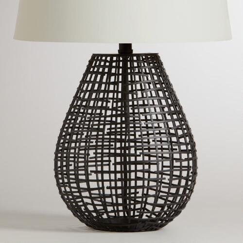Pasha Basketwork Table Lamp Base
