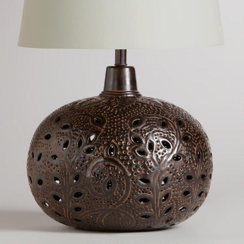 Prema Punched Metal Table Lamp Base