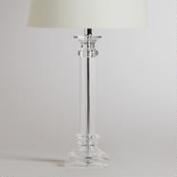 Clear Ariana Table Lamp Base