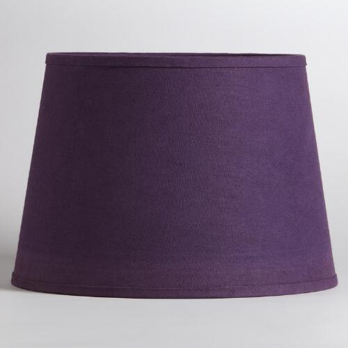 Purple & Casbah Table Lamp Shade