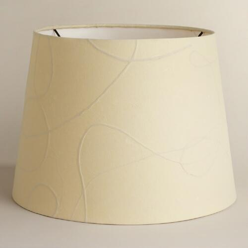 White Mulberry Paper Table Lamp Shade