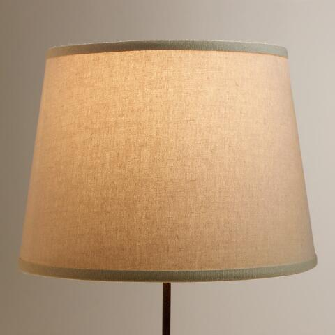 Off White Cotton Linen Table Lamp Shade World Market