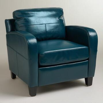 Mallard Bi-Cast Leather Mason Chair