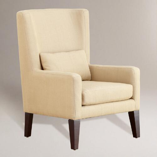 Wheat Triton High-Back Chair