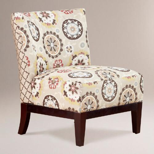 Suzani & Gate Print Darby Chair