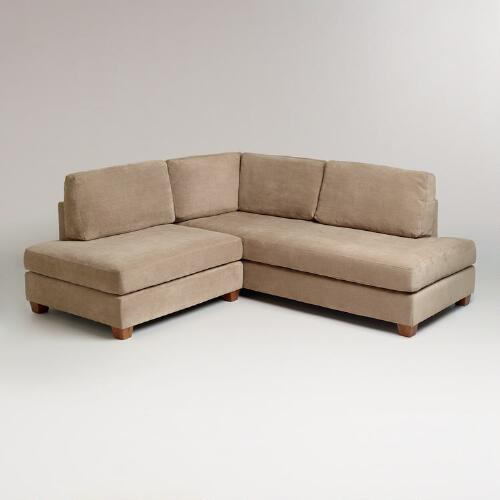 Putty Wyatt Sectional Sofa