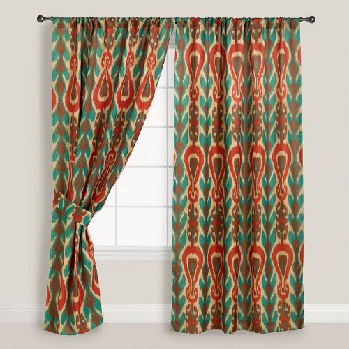 Diva Ikat Curtain