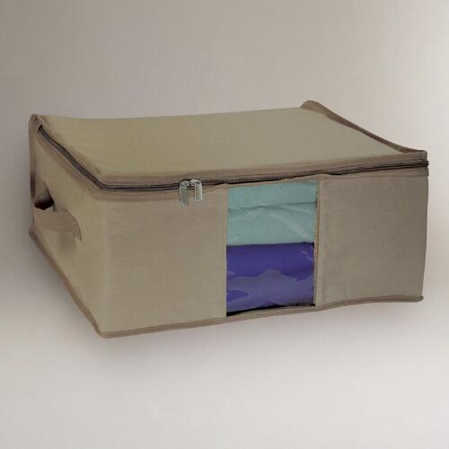 Cedar & Canvas Storage Bags, Set of 2
