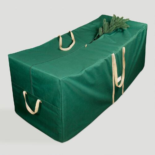Large Green Christmas Tree Storage Bag with Wheels