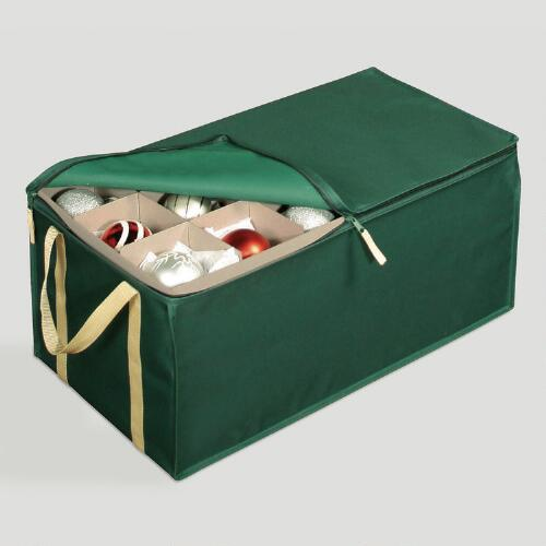 Green Protective Ornament Chest