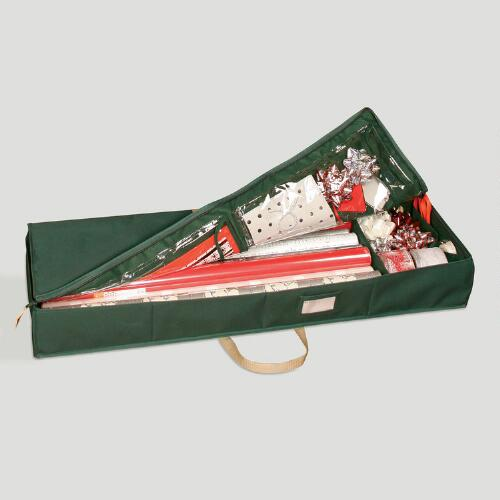 Green Protective Gift Wrap Chest