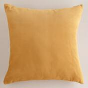 Amber Velvet Throw Pillows